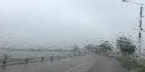 La lluvia en Santa Rosa, 8,2 milímetros