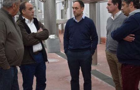 Frigorífico de Bernasconi: en 4 meses en marcha
