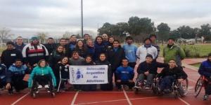 Atletas de Federación Argentina se entrenan en Santa Rosa