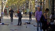 Matan al autor material del ataque en La Rambla