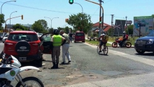 Cuádruple choque en Santa Rosa: sin lesionados
