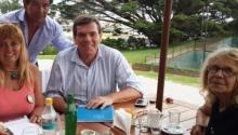 Pacto de Seguridad Vial: González con Montenegro