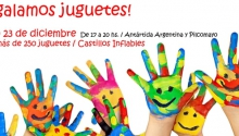 ONG de Santa Rosa junta juguetes para regalar