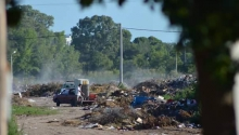 Basura: admiten la fotomulta en Santa Rosa