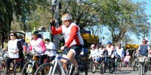 Pico: bicicleteada en defensa del Atuel