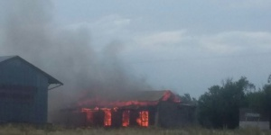 Se quemó una casa en el paraje Utracán