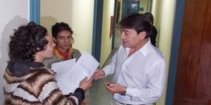 Chakra Raíz llevó petitorio a Casa de Gobierno