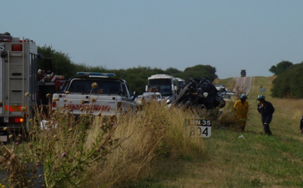 Cuatro muertos en la 35: el conductor del Polo estaba alcoholizado