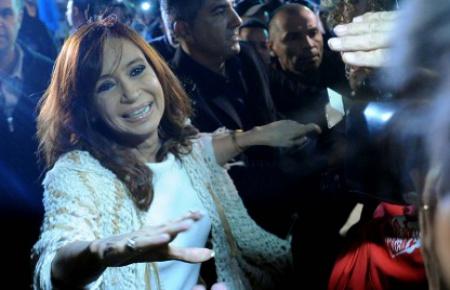 """CFK, sobre la movilización: """"La Patria salió otra vez a las calles"""""""