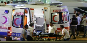 Video del atentado en el aeropuerto de Estambul
