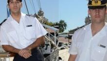 Dos pampeanos zarparon en la Fragata Libertad