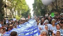 24M: histórica marcha en Plaza de Mayo