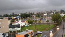La lluvia en Santa Rosa fue de 22 milímetros