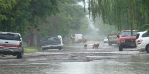 Intensa lluvia en Santa Rosa: reclamos, al 147