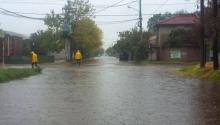 Inundación: qué estatales podrían no ir al trabajo