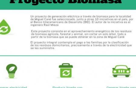 Agencia internacional se fija en proyecto de biomasa de Cané