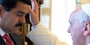 El papa Francisco recibió a Maduro