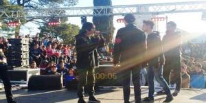 Festival de rap improvisado en el Parque Oliver