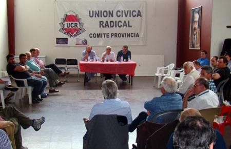 La UCR dejó en stand by la Mesa de Cambiemos