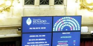 El Senado aprobó el pago a jubilados y el blanqueo de capitales